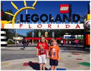Austin's Boys at Lego Land