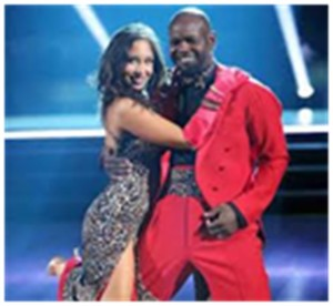 "Emmitt and Cheryl on ""Dancing with the Stars"""