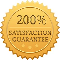 Our 200% Guarantee