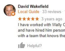 5 star review by David