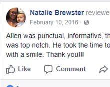 5 star review by Natalie